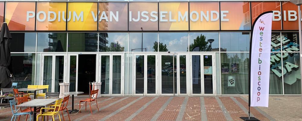 Westerbioscoop in Islemunda, Podium van IJsselmonde